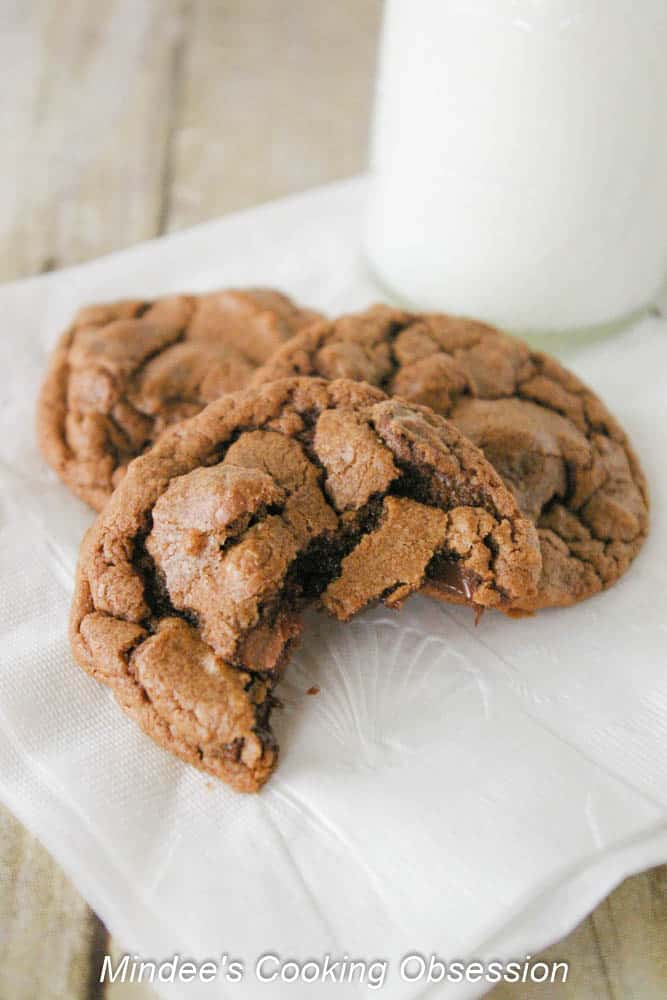 Chewy Chocolate Chip Brownie Cookies The name, chewy chocolate chip brownie cookies, says it all. These cookies are a chocoholics dream!