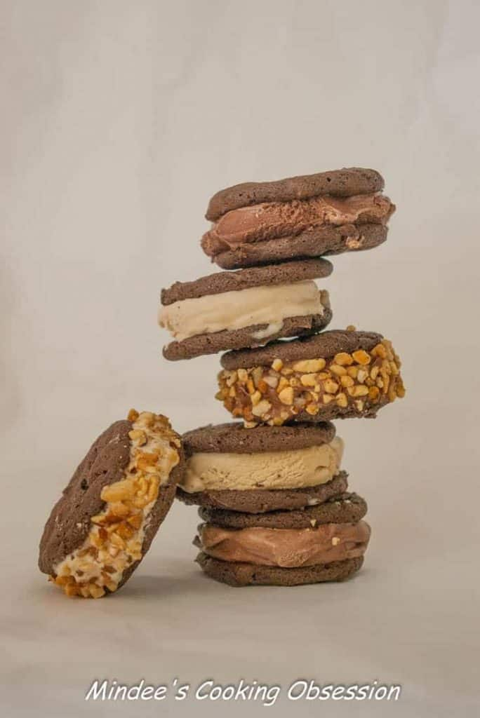 Homemade Ice Cream Sandwiches A great way to cool off this summer! Homemade ice cream sandwiches are made with the ice cream of your choice for a deliciously personalized experience!
