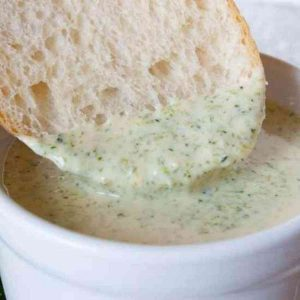 A Hot Bowl of Broccoli Cheese Soup