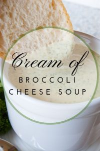 Pinnable image 4 for broc cheese soup.