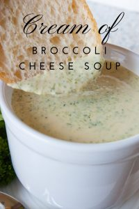 Pinnable image 5 for broc cheese soup.
