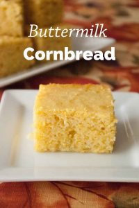 Pinnable image 1 for cornbread.