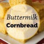 Pinnable image 3 for cornbread.