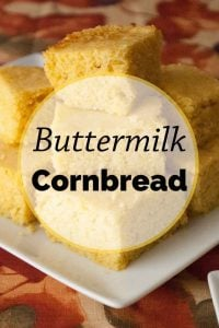 Pinnable image 3 for cornbread.
