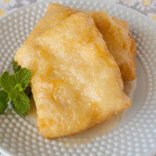 Fried Breakfast Scones facebook image.