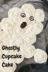 Pinnable image 1 for ghost cake.