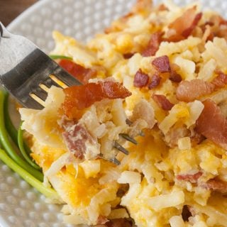 Hash Brown Breakfast Casserole Facebook image.