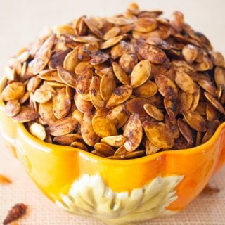 Roasted Pumpkin Seeds facebook image.
