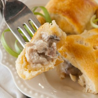 Turkey or Chicken Stuffed Rolls facebook image.