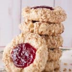 Oatmeal Thumbprint Cookies