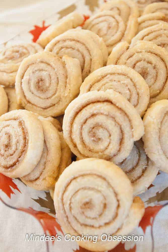 Pie Dough Cinnamon Swirls Is someone constantly sampling your Thanksgiving meal before you can even serve it! These pie dough cinnamon swirls will ward off those sneaky snackers!