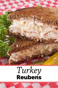 Pinnable image 3 for turkey reubens.