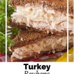 Pinnable image 6 for turkey reubens.