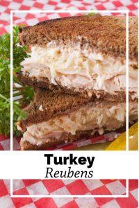 Pinnable image 6 for turkey reubens.