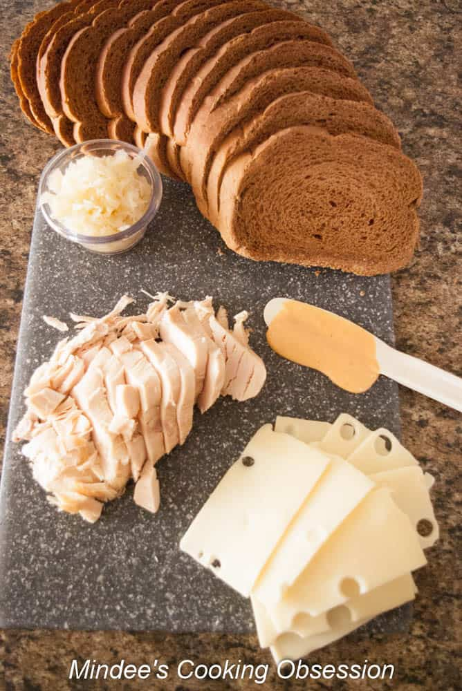 Turkey Reubens Leftover turkey from Thanksgiving? No problem! Try a turkey reuben! You'll love this delicious twist on a classic sandwich!