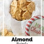 Pinnable image 6 for almond brittle.