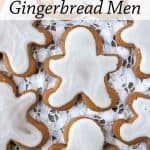 Pinnable image 1 gingerbread men.