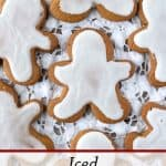 Pinnable image 3 for gingerbread men.