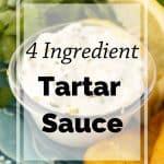 Pinnable image 5 for tartar sauce.