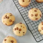 Chocolate Chip Breakfast Muffins Chocolate chip breakfast muffins are light and tasty. These quick and easy to make muffins are great for breakfast, brunch or an afterschool snack!