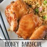 Honey Barbecue Glazed Chicken