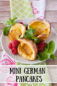 Pinnable image 3 for mini german pancakes