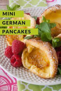 Pinnable image 4 for mini german pancakes