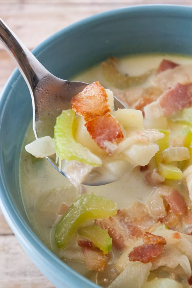 Simple Potato Bacon Soup