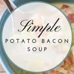 Pinnable image 4 for potato soup.