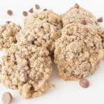 Facebook image for banana oatmeal chocolate chip cookies.
