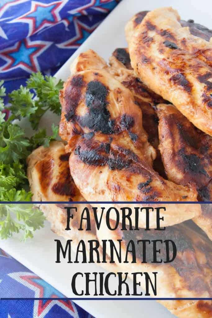 Favorite Marinated Chicken pinnable image1.