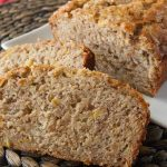 Facebook image for banana zucchini bread.