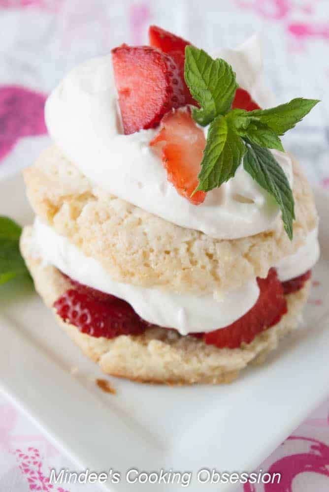 Breakfast Strawberry Shortcake- Dessert for breakfast! Strawberry shortcake isn't just for dessert anymore!
