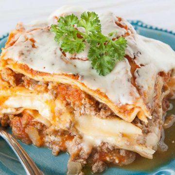 Facebook image for lasagna.