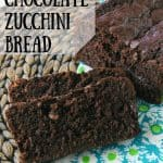 Pinnable image 3 for chocolate zucchini bread.
