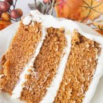 Corrie's Triple Layer Carrot Cake-These three smooth, moist carrot cake layers frosted with rich cream cheese frosting are simple to make! This is truly the best carrot cake ever!