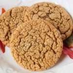 Facebook image for molasses cookies.