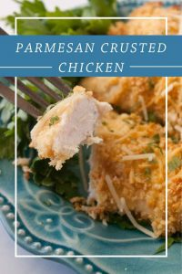 Pinnable image 5 for parm crusted chicken.