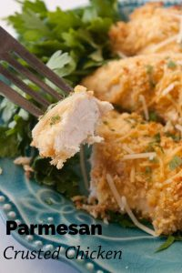 Pinnable image 6 for parm crusted chicken.