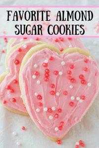 Pinnable image 1 for vday sugar cookies.