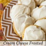 Pinnable image 1 for CCFPumpkin Cookies