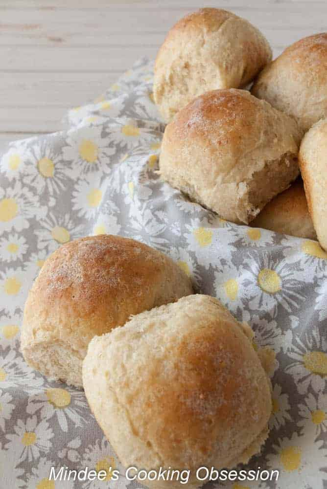 Soft Oatmeal Dinner Rolls- Looking for something a little different yet delicious to go with dinner tonight? Try my soft oatmeal dinner rolls! They go great with just about anything!