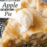 Pinnable image 3 for caramel apple pie.