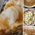 Pinnable image 5 for caramel apple pie.