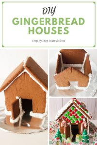 Pinnable image 5 for gingerbread houses.