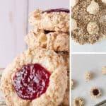 Pinnable image 4 for thumbprint cookies.