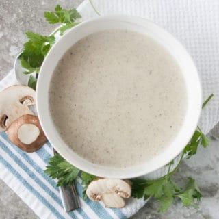 The best Cream of Mushroom Soup