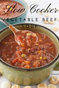 Pinnable image 5 for veg beef soup.