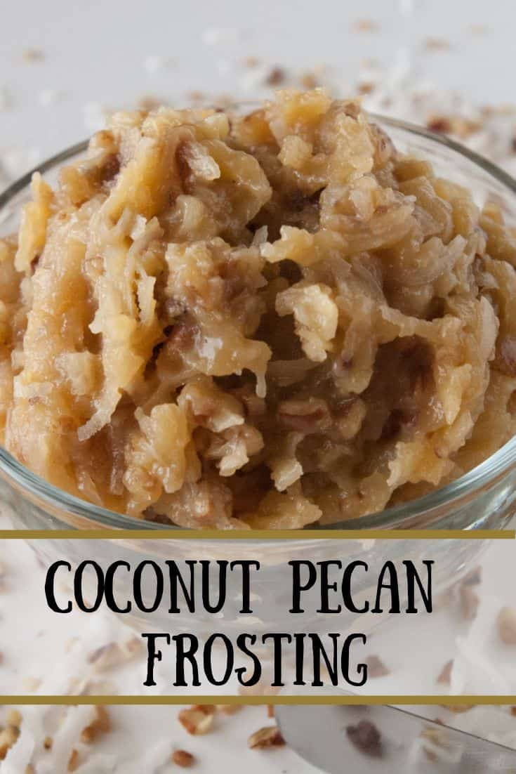 Coconut Pecan Frosting pin3