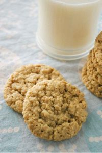 Pinnable image 2 for oatmeal cookies